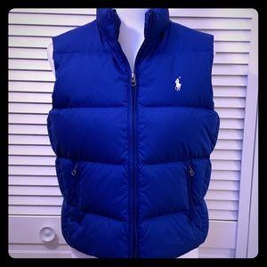 Ralph Lauren Sport Puffer Vest, Royal Blue